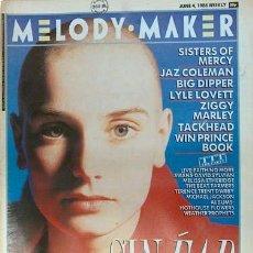 Revistas de música: MELODY MAKER 4-6-1988. SINEAD O'CONNOR, SISTERS OF MERCY, FAITH NO MORE…. Lote 7393357