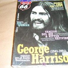 Revistas de música: RUTA 66 Nº 180: GEORGE HARRISON,VANESSA DEL RIO & KITTEN NATIVIDAD,JON SPENCER. Lote 104096692