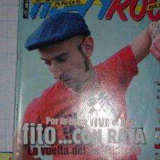 Revistas de música: HEAVY ROCK POSTER HEROES DEL SILENCIO/IRON MAIDEN... Lote 26337673