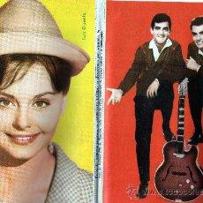Revistas de música: CONFIDENCIAS DEL DUO DINAMICO Nº 9, AÑO 1963, CON ROCIO DURCAL. Lote 26376327