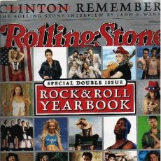 Revistas de música: ROLLING STONE. SPECIAL DOUBLE ISSUE ROCK & ROLL YEARBOOK. Lote 24093055