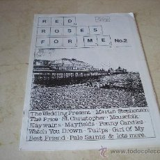 Revistas de música: FANZINE RED ROSES FOR ME Nº 2 - AÑO 1990 - CON THE WEDDING PRESENT, THE PRICE, MAYFIELDS, MOUSEFOLK,. Lote 10313455