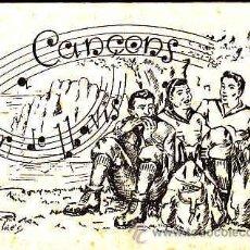Revistas de música: CANÇONS A FLOR DE LLAVIIS, CANÇONS DE MUNTANYA, ANY 1954. Lote 10328461