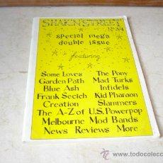 Revistas de música: SHAKIN´STREET Nº 3/4 - AUSTRALIA - CON SOMELOVES, GARDEN PATH, THE PONY, ETC. Lote 10373071