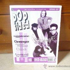 Revistas de música: POPSIDED Nº 5 - PRIMAVERA 1997 - CON WONDERMINTS, THE CHURCH, WALTER CLEVENGER, ETC. Lote 10617396