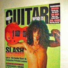 Revistas de música - GUITAR WORLD VOL. 13/ Nº 2 - GUNS N' ROSES - SOUNDGARDEN - NIRVANA - PEARL JAM - THE WHO -NEIL YOUNG - 15183010