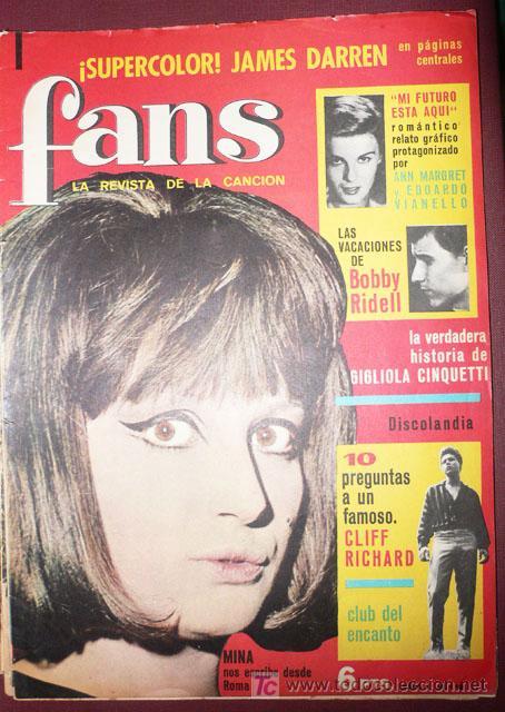 FANS REVISTA MUSICAL-MINA - AÑO I Nº 12-VELL I BELL (Música - Revistas, Manuales y Cursos)