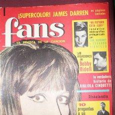 Revistas de música: FANS REVISTA MUSICAL-MINA - AÑO I Nº 12-VELL I BELL. Lote 22411235