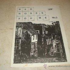 Revistas de música: FANZINE RED ROSES FOR ME Nº 3 - CON THE POPGUNS, THE GRAVY TRAIN, ETC. Lote 11472540