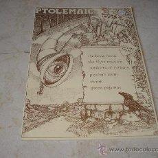 Revistas de música: PTOLEMAIC TERRASCOPE VOL. 1 Nº 1 - MAYO 1991 - CON THE BEVIS FROND, GREEN PAJAMAS, ETC. Lote 11770824