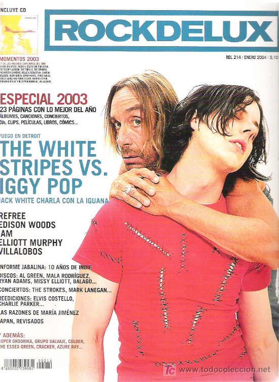 ROCKDELUX especial 2003 + cd ** the strokes / belle & sebastian/ the trills  / villalobos/ piano magi