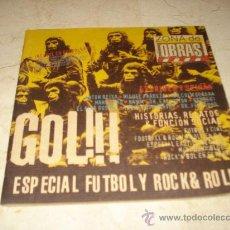 Revistas de música: ZONA DE OBRAS ESPECIAL FUTBOL Y ROCK & ROLL. Lote 11999626