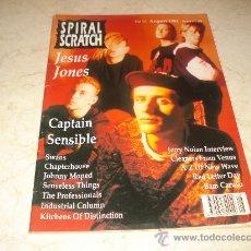 Revistas de música: REVISTA SPIRAL SCRATCH Nº 13 - AGOSTO 1991 - PORTADA JESUS JONES. Lote 12013951
