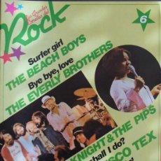 Revistas de música: LAS GRANDES ESTRELLAS DEL ROCK. Nº 6- THE BEACH BOYS. Lote 19131625