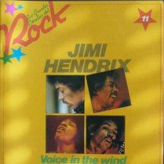 Revistas de música: LAS GRANDES ESTRELLAS DEL ROCK.Nº 11 - SARPE 1982 - JIMI HENDRIX. Lote 18408428