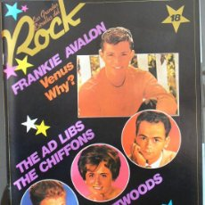 Revistas de música: LAS GRANDES ESTRELLAS DEL ROCK-Nº 18-SARPE-FRANKIE AVALON. Lote 18429720