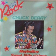 Revistas de música: LAS GRANDES ESTRELLAS DEL ROCK- Nº 21-SARPE- CHUCK BERRY. Lote 18408431