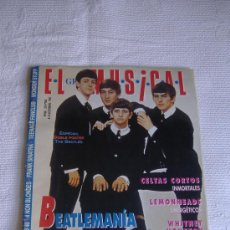 Revistas de música: EL GRAN MUSICAL Nº 398, ESPECIAL BEATLES, NOVIEMBRE 1993. Lote 27456524