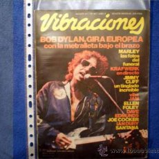 Revistas de música: VIBRACIONES Nº 83 (AGOSTO 81) BOB DYLAN, BOB MARLEY, KRAFWERK, JIMMY CLIFF, THE JAM , JOE COCKER,. Lote 13169299