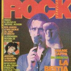 Revistas de música: ROCK ESPEZIAL - Nº 38 - REVISTA DE MUSICA EDITADA - 1984. Lote 53409884