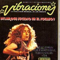 Revistas de música: REVISTA VIBRACIONES- NOVIEMBRE 1975-Nº 14 AÑO 2º- DYLAN-ZEPPELIN-. Lote 12675596