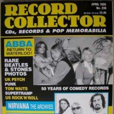 Revistas de música: REVISTA RECORD COLLECTOR - ABRIL 1999 - THE BEATLES - ABBA - NIRVANA - TOM WAITS. Lote 17168912