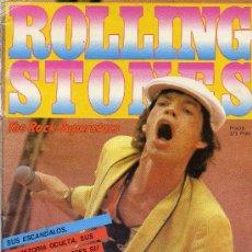 Revistas de música: ROLLING STONES - MONOGRAFICO EDITADO POR LA GACETA ILUSTRADA, CON POSTER EN LAS PAGINAS CENTRALES -. Lote 12915235