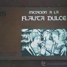 Revistas de música: INICIACION A LA FLAUTA DULCE TOMO III, J. AKOSCHKY Y M. VIDELA - RICORDI - 1974. Lote 18799710
