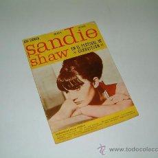 Revistas de música: ASI CANTA SANDIE SHAW EN EL FESTIVAL DE EUROVISION. SUS CANCIONES. 1967. Lote 13292286