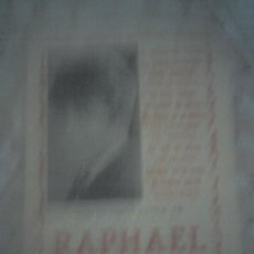 Revistas de música: RAFAEL. RAPHAEL CANCIONES DE MODA REVISTA CON VARIAS CANCIONES. Lote 13453475