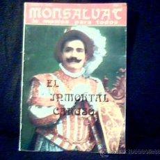 Revistas de música: MONSALVAT, LA MÚSICA PARA TODOS.EL INMORTAL CARUSO.Nº 2.ENERO 1974.188 PÁGINAS.TAPA BLANDA.. Lote 14130821
