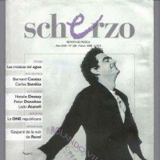 Revistas de música: REVISTA DE MÚSICA CLÁSICA: SCHERZO. Nº 228 - MARZO 2008 . Lote 26608464