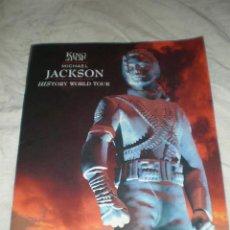 Revistas de música: MICHAEL JACKSON -PROGRAMA OFICIAL HISTORY WORLD TOUR 1996-TAMAÑO A3-LEER NOTA!VER MARAVILLOSAS FOTO. Lote 26861318