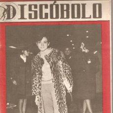 Revistas de música: DISCOBOLO: RITA PAVONE, THE ROLLING STONES, THE ANIMALS, LOS DIAMANTES NEGROS. Lote 20116876
