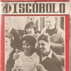 Revistas de música: DISCOBOLO: LAUREN DISTEL, LOS TIBURONES,PINO DONAGGIO, LOS PEKES, MIGUEL RIOS, ENRIQUE MACIAS. Lote 20057180