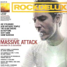 Revistas de música: ROCKDELUX *** RDL 204 MASSIVE ATTACK + CD WIBUTEE / BUGGE WESSELTOFT / JON EBERSON GROUP. Lote 16124021