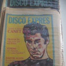 Revistas de música: REVISTAS DISCO EXPRES AÑO 1978, CONSULTAR EXISTENCIAS. Lote 29820124