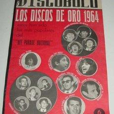 Revistas de música: 3 REVISTAS DISCOBOLO ENCUADERNADAS, CORRESPONDEN A LOS NUMEROS 67, 68, 69 DE 1965 - LOS DISCOS DE OR. Lote 24970804