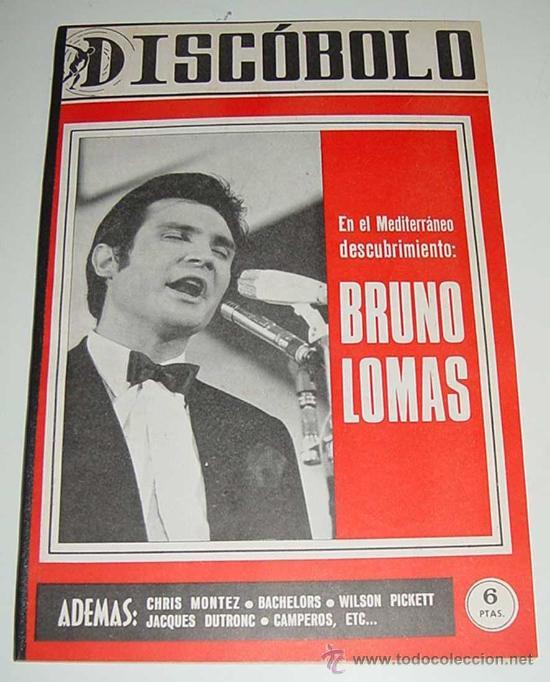 3 REVISTAS DISCOBOLO ENCUADERNADAS - NUMEROS 110, 111, 112 DE 1966 - BRUNO LOMAS, BEATLES, BRAVOS, J (Música - Revistas, Manuales y Cursos)