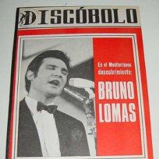 Revistas de música: 3 REVISTAS DISCOBOLO ENCUADERNADAS - NUMEROS 110, 111, 112 DE 1966 - BRUNO LOMAS, BEATLES, BRAVOS, J. Lote 25099665