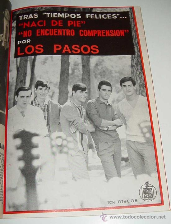 Revistas de música: 3 REVISTAS DISCOBOLO ENCUADERNADAS - NUMEROS 110, 111, 112 DE 1966 - BRUNO LOMAS, BEATLES, BRAVOS, J - Foto 3 - 25099665