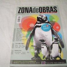 Revistas de música: ZONA DE OBRAS Nº 54, INVIERNO 08-09: ENTREVISTAS A BARACK OBAMA,JUANA MOLINA,NACHO VEGAS,ANDY CHANGO. Lote 263083130