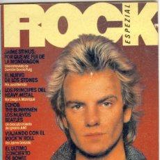 Revistas de música: ROCK ESPEZIAL - Nº 1 SEPTIEMBRE 1981 - OCASIÓN IRREPETIBLE!!! LA MÍTICA REVISTA Nº 1. Lote 26187567