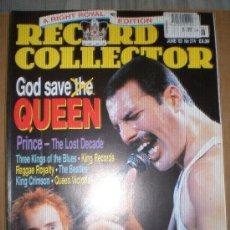 Revistas de música: RECORD COLLECTOR-Nº274-JUNE 02-QUEEN,SEX PISTOLS,BEATLES,PRINCE,. Lote 27225589