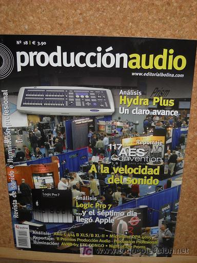 Usado, REVISTA PRODUCCION AUDIO Nº18-AKG C 414 B XLS/B XL-II - MICROFONO DPA 4015 segunda mano
