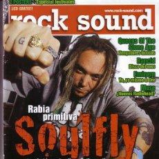 Revistas de música: MUSE ROCK SOUND REVISTA SEPTIEMBRE 2000 NUMERO 31 MUSE SOULFLY CON EL POSTER INTERIOR. Lote 26754830