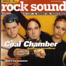 Revistas de música: ROCK SOUND REVISTA JUNIO 1999 NUMERO 16 COAL CHAMBER RED HOT CHILI PEPPERS PENNYWISE. Lote 26754839