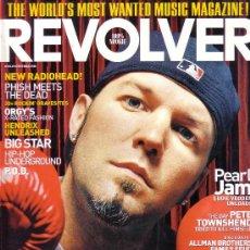Revistas de música: REVOLVER REVISTA MUSICAL USA NUMERO 2 AÑO 2000 LIMP BIZKIT PEARL JAM RADIOHEAD. Lote 26754857
