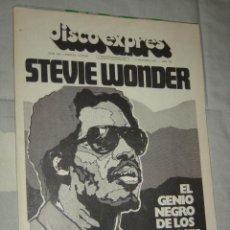 Revistas de música: DISCO EXPRES Nº 294 OCTUBRE 1974 STEVIE WONDER O'SULLIVAN COREA BEATLES COHEN . Lote 26970327