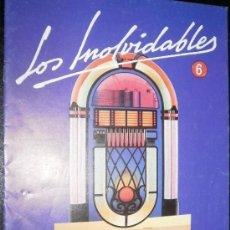 Revistas de música: REVISTA LOS INOLVIDABLES Nº 6 DICCIONARIO . Lote 20220448